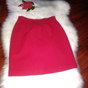 Skirts women's color red size 8